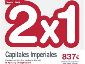 2 x 1 CAPITALES IMPERIALES